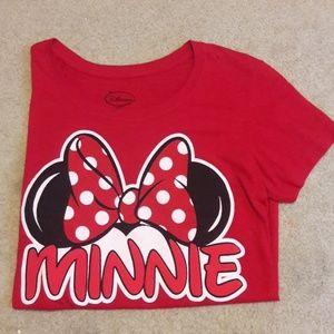 Disney Minnie Mouse Bow tshirt